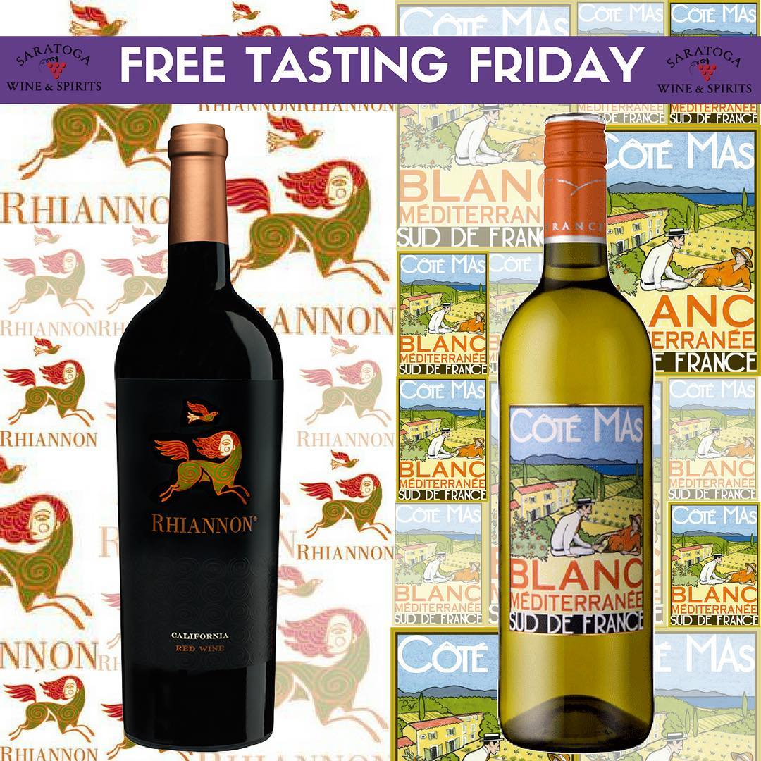 Advertisement for Free Tasting Friday